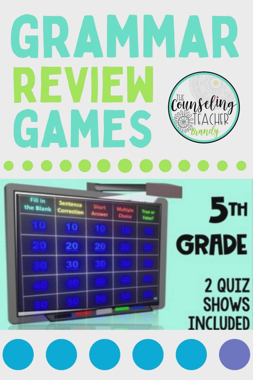5th Grade Grammar Review Games Video Video Grammar Review Games Grammar Grammar Review [ 1500 x 1000 Pixel ]