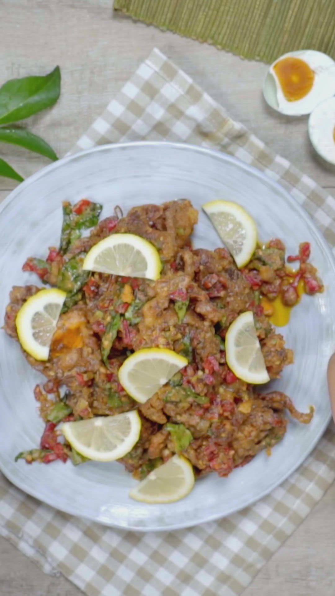 Video Kepiting Soka Telur Asin Cabai Garam Resep Masakan Indonesia Resep Makanan Masakan