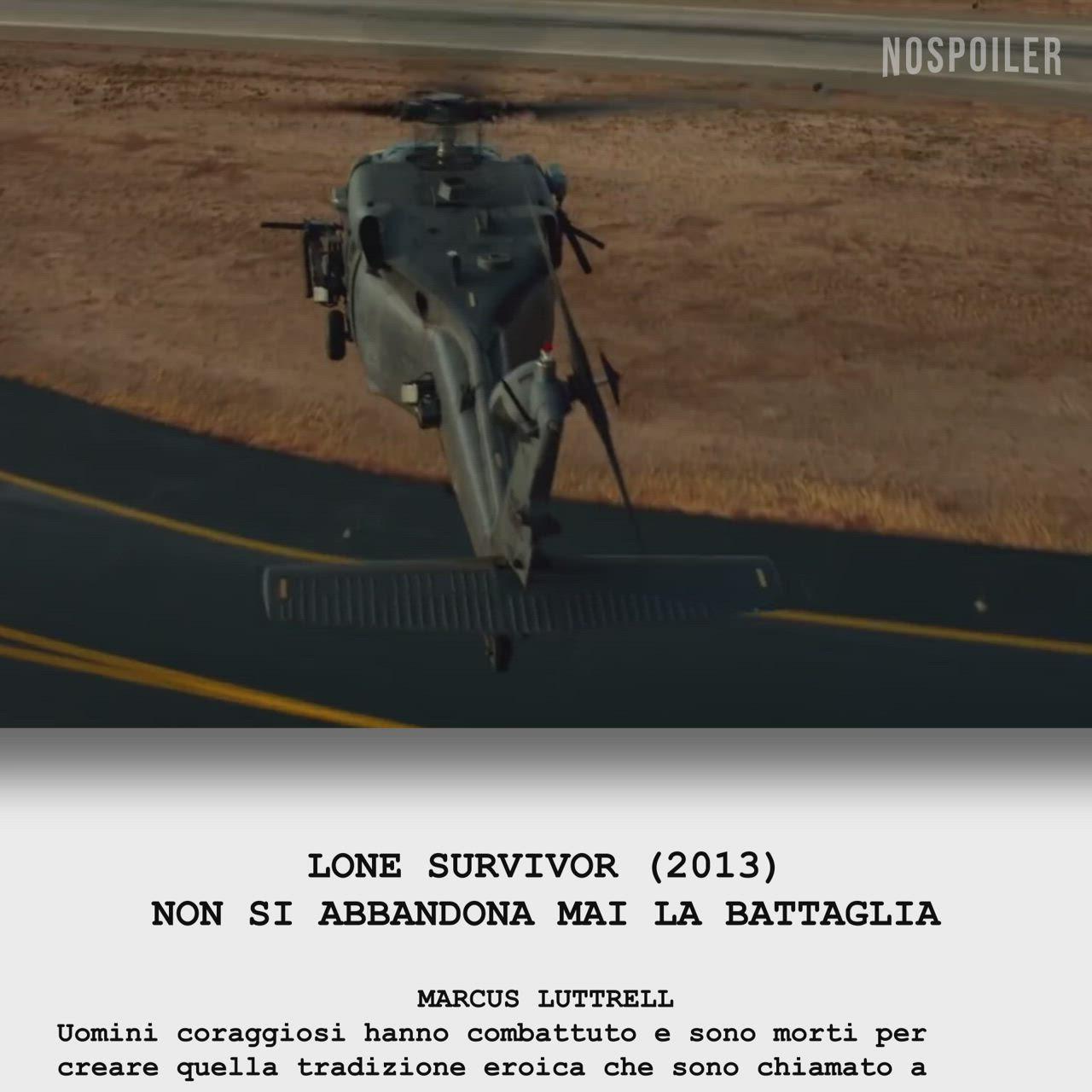 Lone Survivor Scena Finale Non Si Abbandona Mai La Battaglia Video Eric Bana Combattimento Film