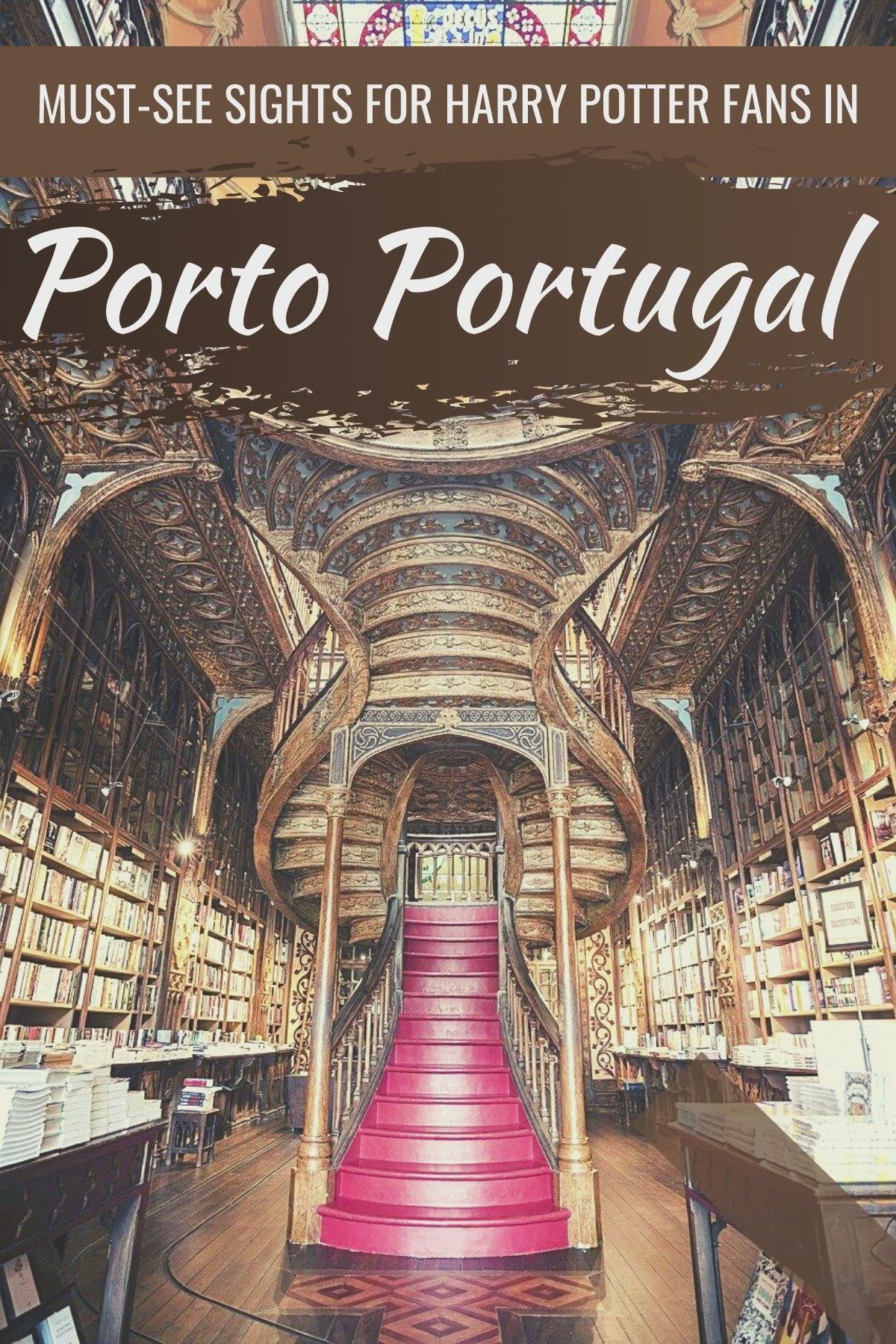 Harry Potter Porto The Jk Rowling Porto Portugal Connection Video Video In 2021 Porto Porto Portugal Beautiful Places To Visit