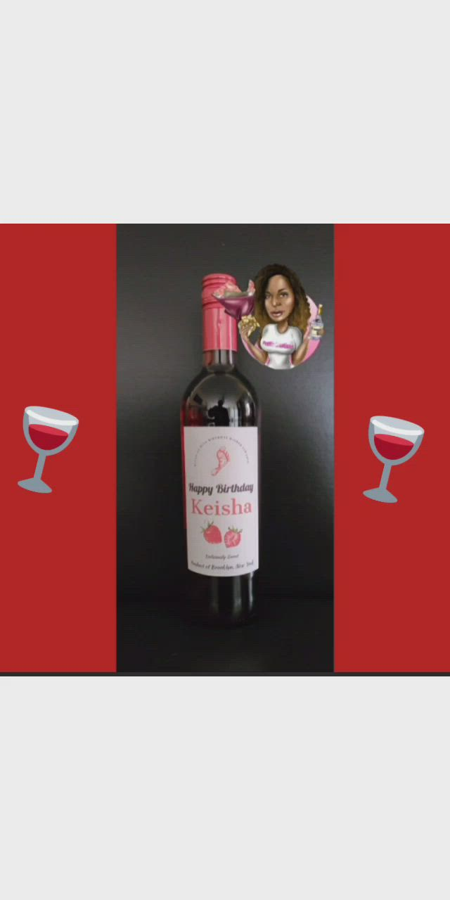 Personalized Barefoot Strawberry Moscato Wine Bottle Video In 2020 Wine Bottle Liquor Bottles Bottle