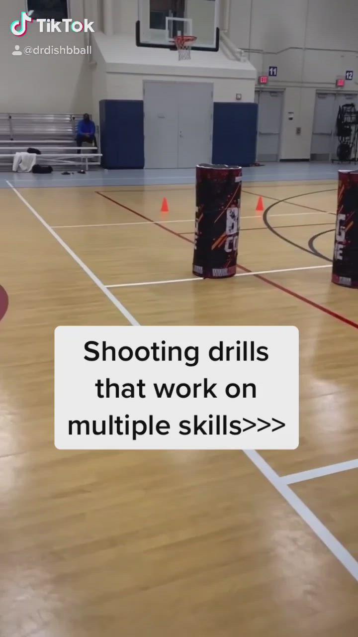 Basketball Tiktoks Dr Dish Ct Basketball Shooting Workout Video Basketball Backboard Basketball Drills Basketball Ball