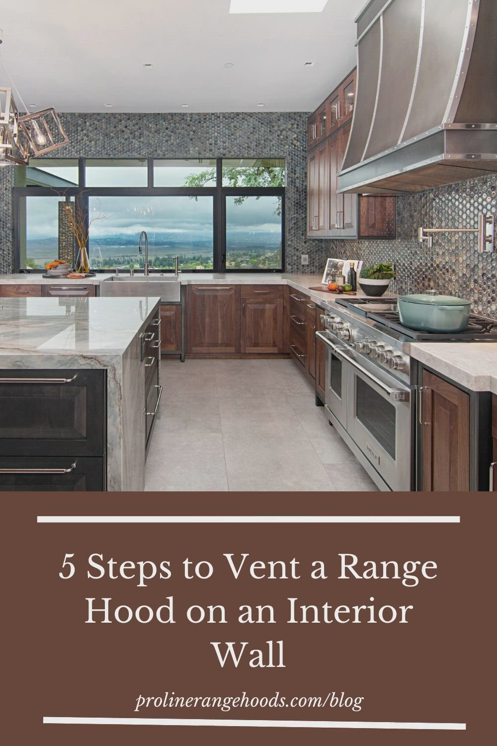How To Vent A Range Hood On An Interior Wall Video Video In 2021 Range Hood Interior Walls Interior