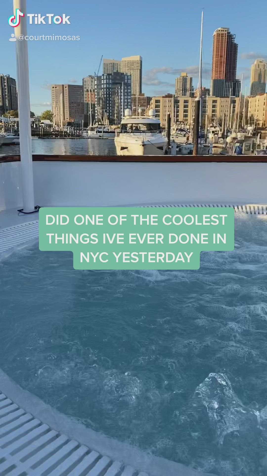 Nyc Hot Tub Tour Video In 2021 Activities In Nyc New York Travel Nyc Tours