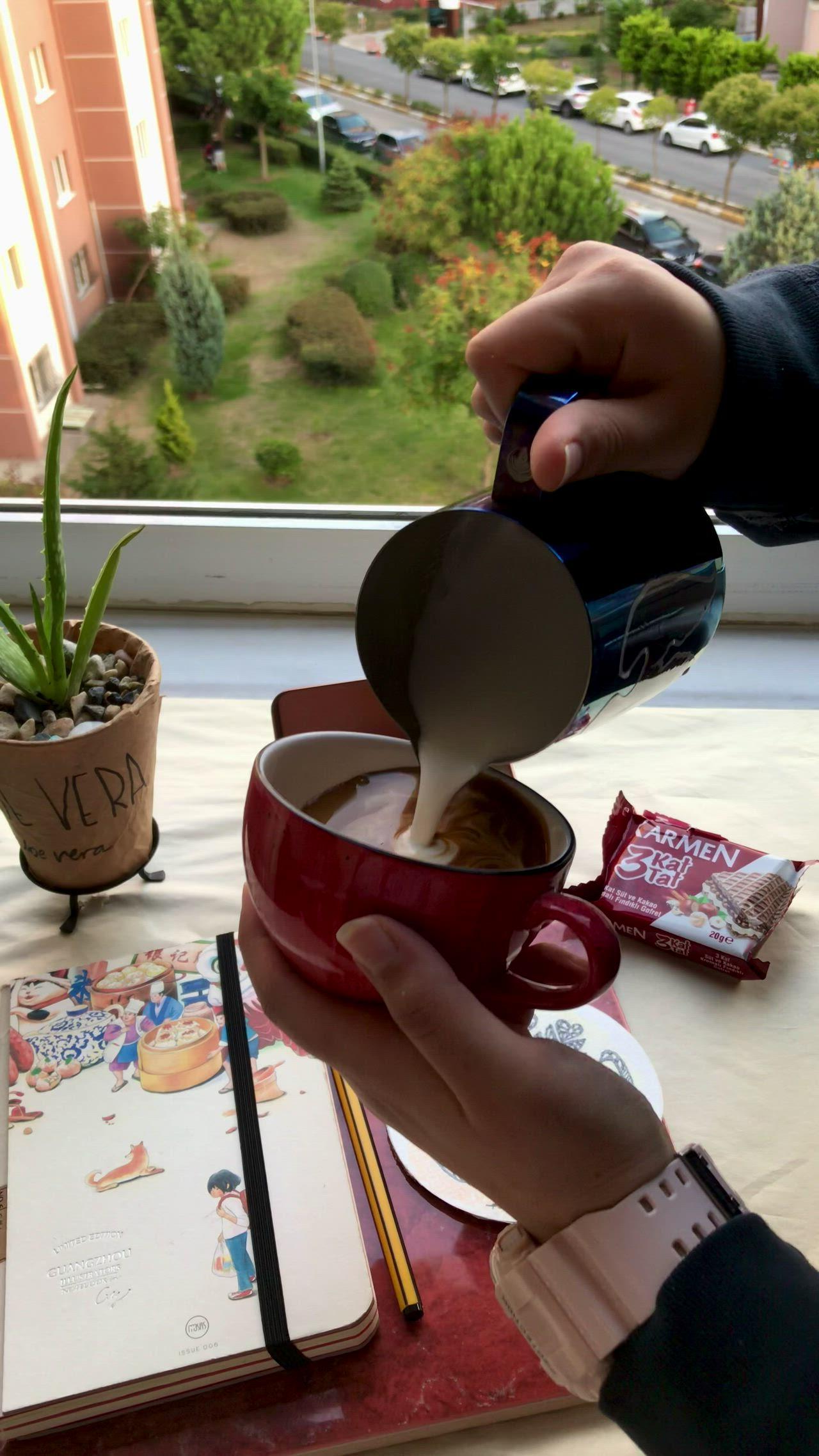 My Beautiful Swan Video Latte Art Coffee Art Coffee Lover