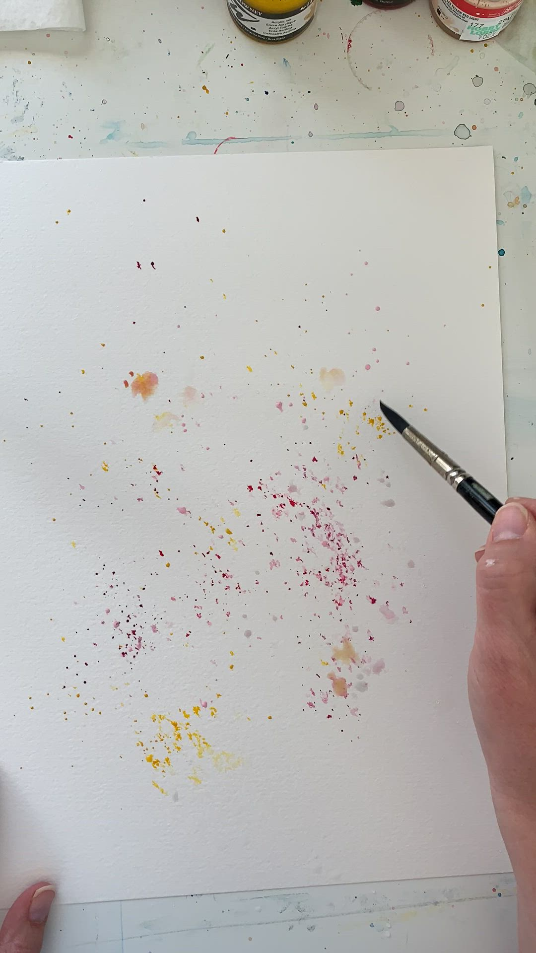 Painting Wildflowers In Watercolor Watercolor Paintings