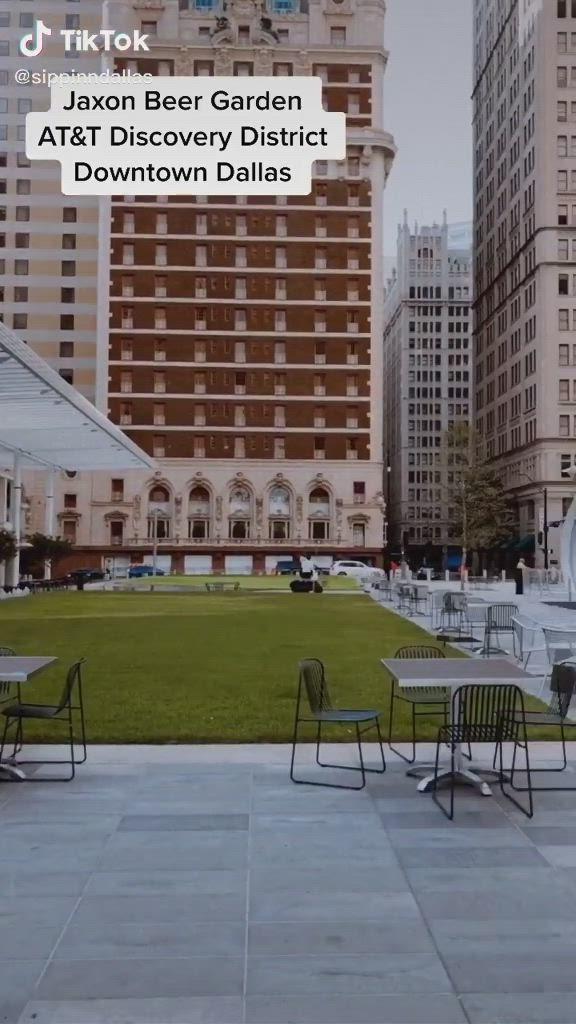 Pin By Tiktoker02 On Tiktoks Video In 2020 Downtown Dallas Beer Garden Downtown