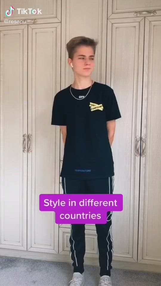 Style And Outfits In Different Countries Fashion Ootd Tiktok Video Fashion Country Fashion Popular Outfits