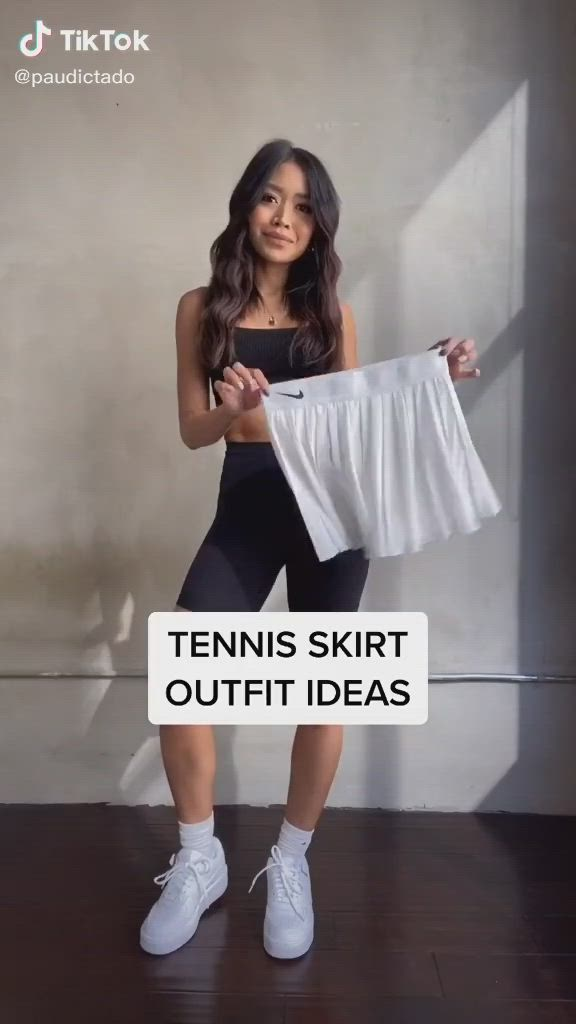 Tennis Skirt Fits By Paudictado Video Clothes Tennis Skirt Cute Outfits