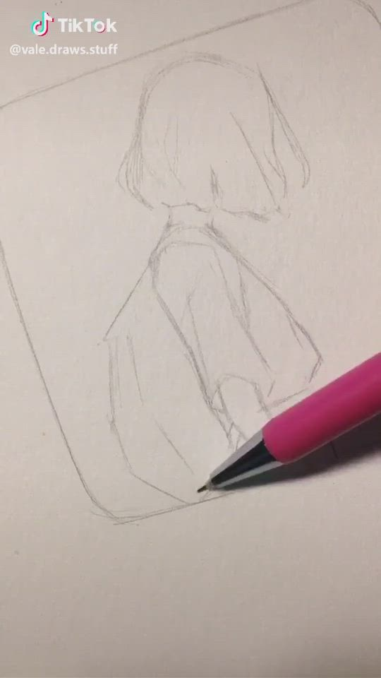 Tik Tok Art Video In 2021 Drawings Art Drawings Sketches Simple Art Drawings Sketches Creative