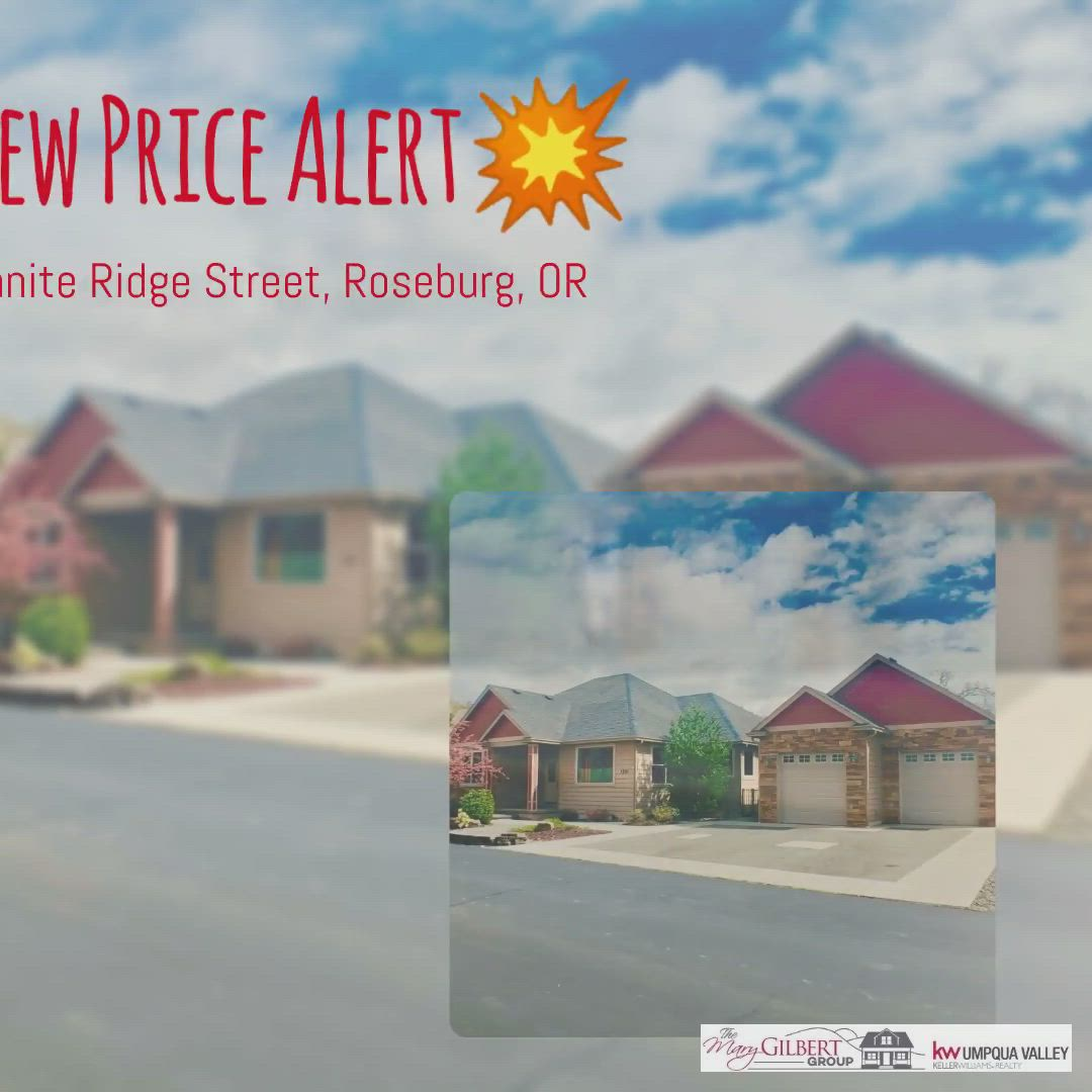 New Price Alert Video In 2020 Roseburg Granite Ridge Custom Homes