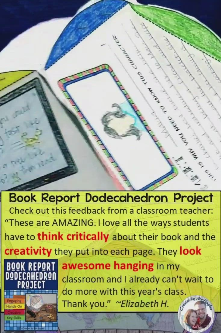 Book Report Reading Project Reading Activity Video Book Report Reading Projects Reading Activities [ 1102 x 734 Pixel ]