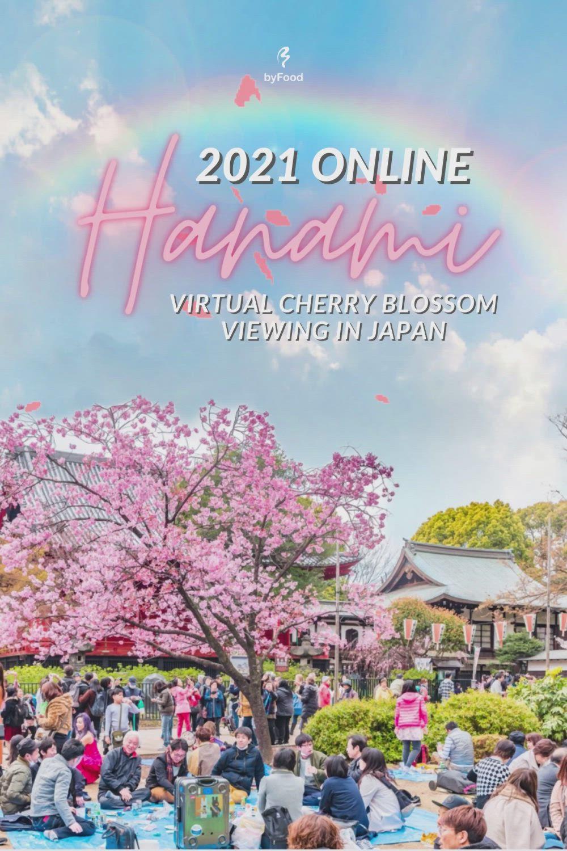Online Hanami 2021 Virtual Cherry Blossom Season In Japan Video In 2021 Cherry Blossom Japan Hanami Cherry Blossom Season