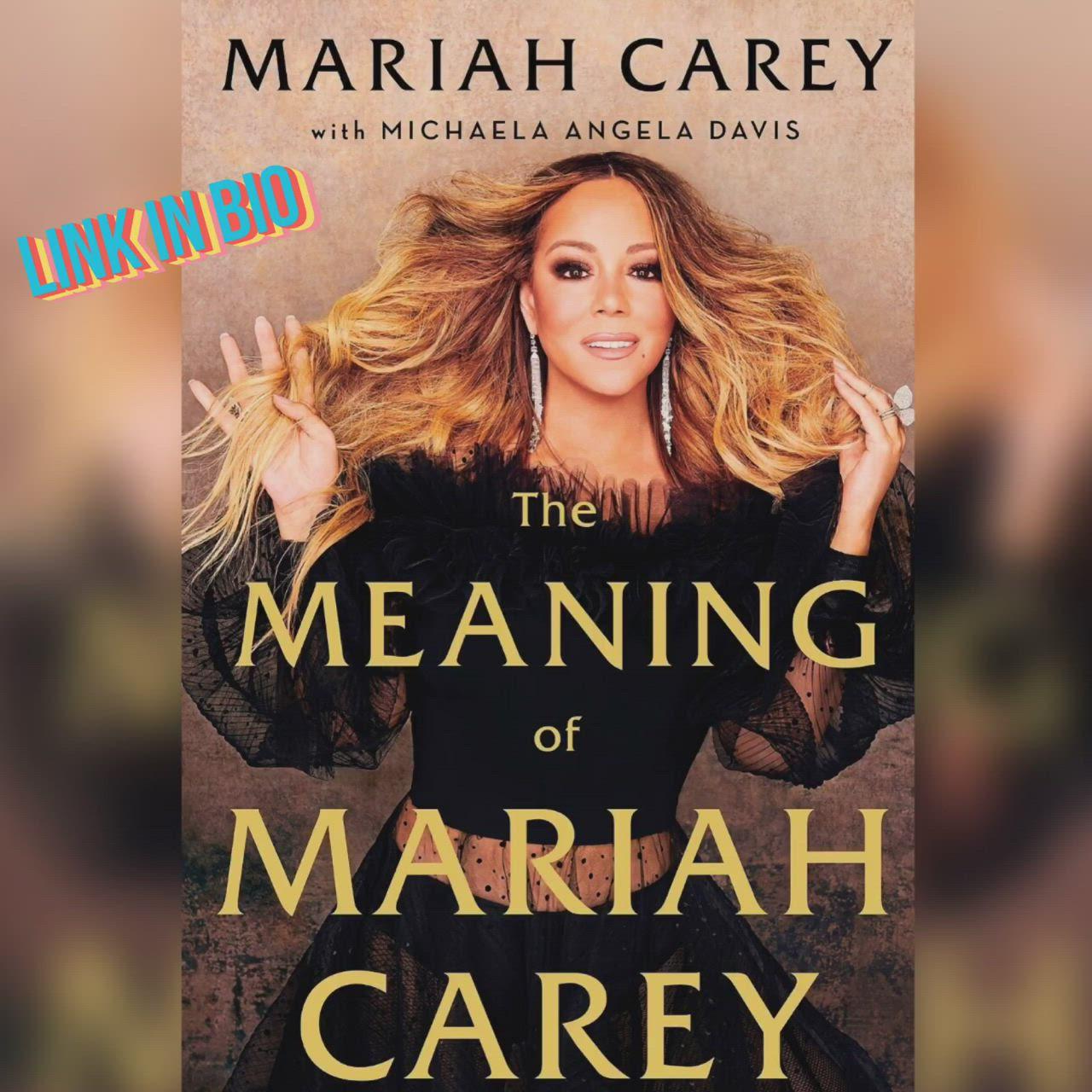 The Meaning Of Mariah Carey Inspire Me Jcoulterj Video Mariah Carey Good Books Mariah