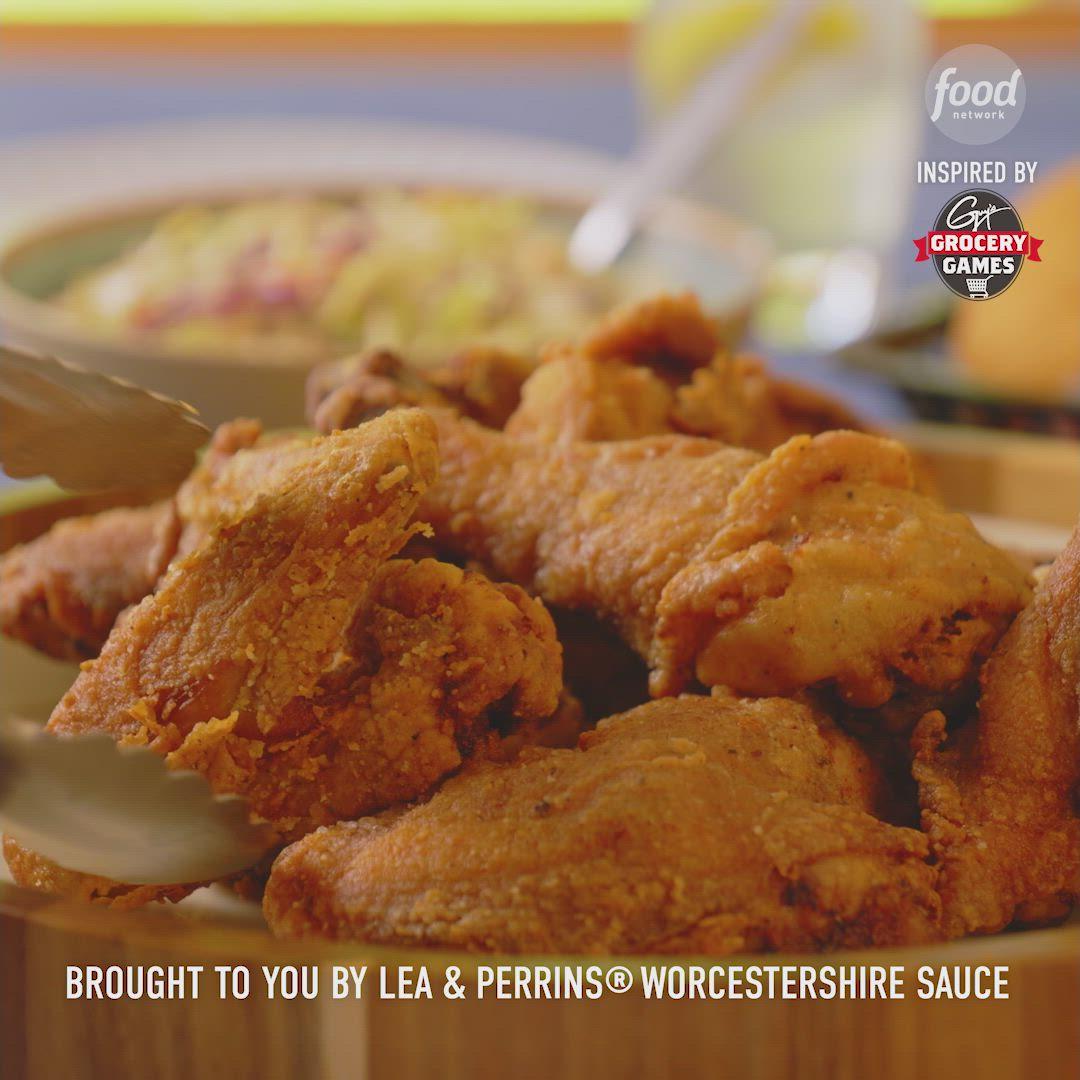 Summertime Fried Chicken Dinner Video Recipe Video In 2020 Fried Chicken Dinner Food Network Recipes Chicken Dinner