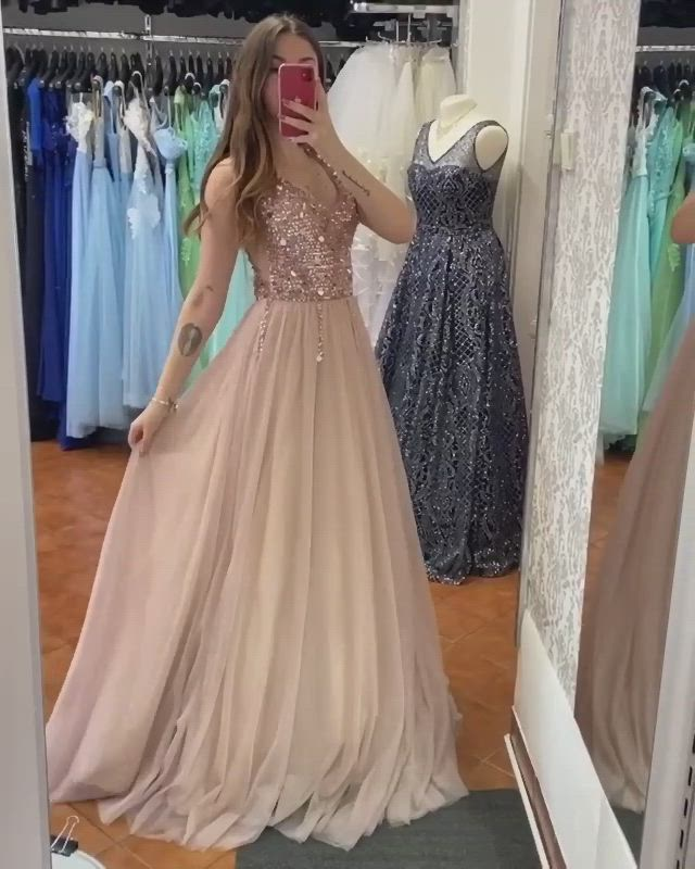 New Style Prom Dress Long Evening Dress Formal Dress Graduation School Party Gown Pc0480 Video Video Prom Dresses Dresses Evening Dresses