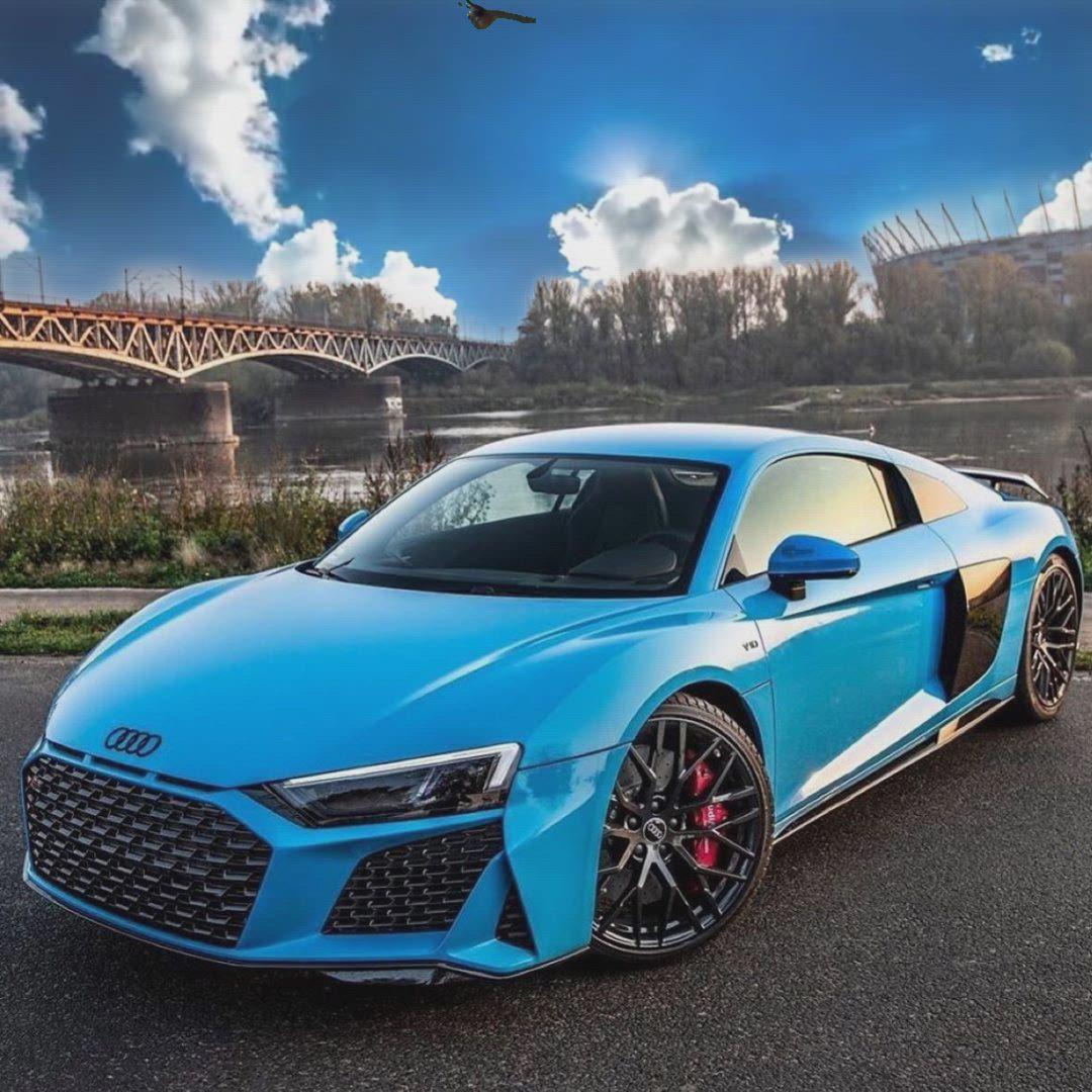 Audi R8 3𝗗 𝗕𝗥𝗔𝗞𝗘 𝗖𝗔𝗟𝗜𝗣𝗘𝗥 𝗥𝗜𝗠 𝗪𝗔𝗧𝗖𝗛 Video Audi Audi R8 Blue Audi R8