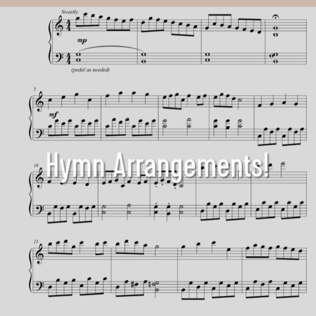 Hymn Arrangements Book On Amazon Hymn Collection For Advanced Piano Kathryn Carpenter Video Piano Music Piano Sheet Music Piano Sheet Music Free