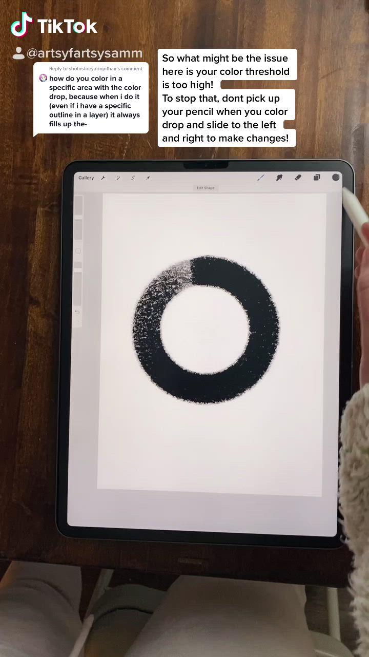 Color Drop Issues Video In 2021 Digital Art Tutorial Digital Drawing Procreate Ipad Tutorials