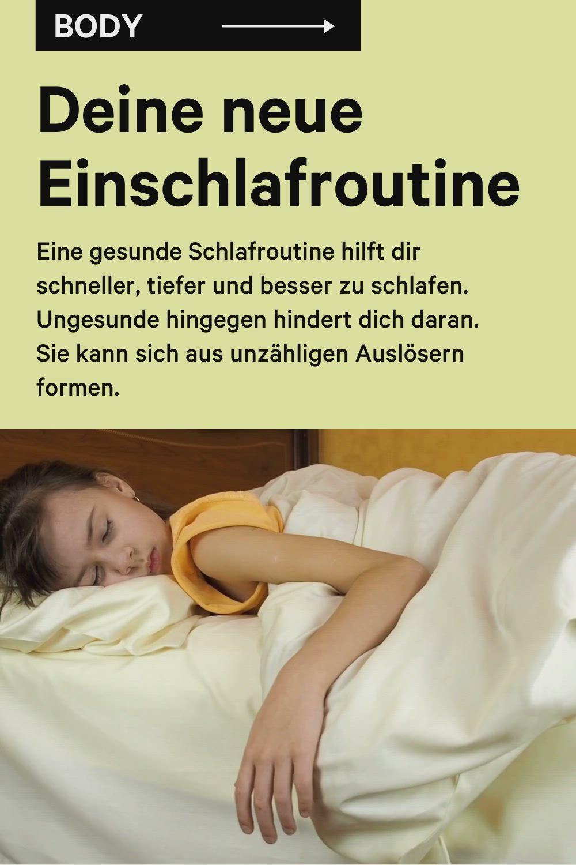 Deine Neue Einschlafroutine Video Schlafen Besser Schlafen Einschlafen