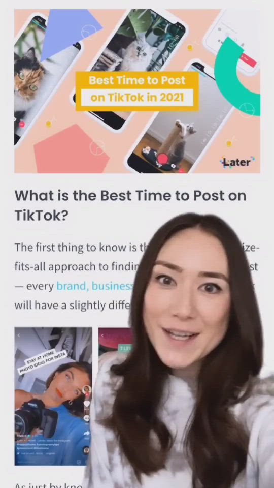 Video How To Find Your Best Time To Post On Tiktok