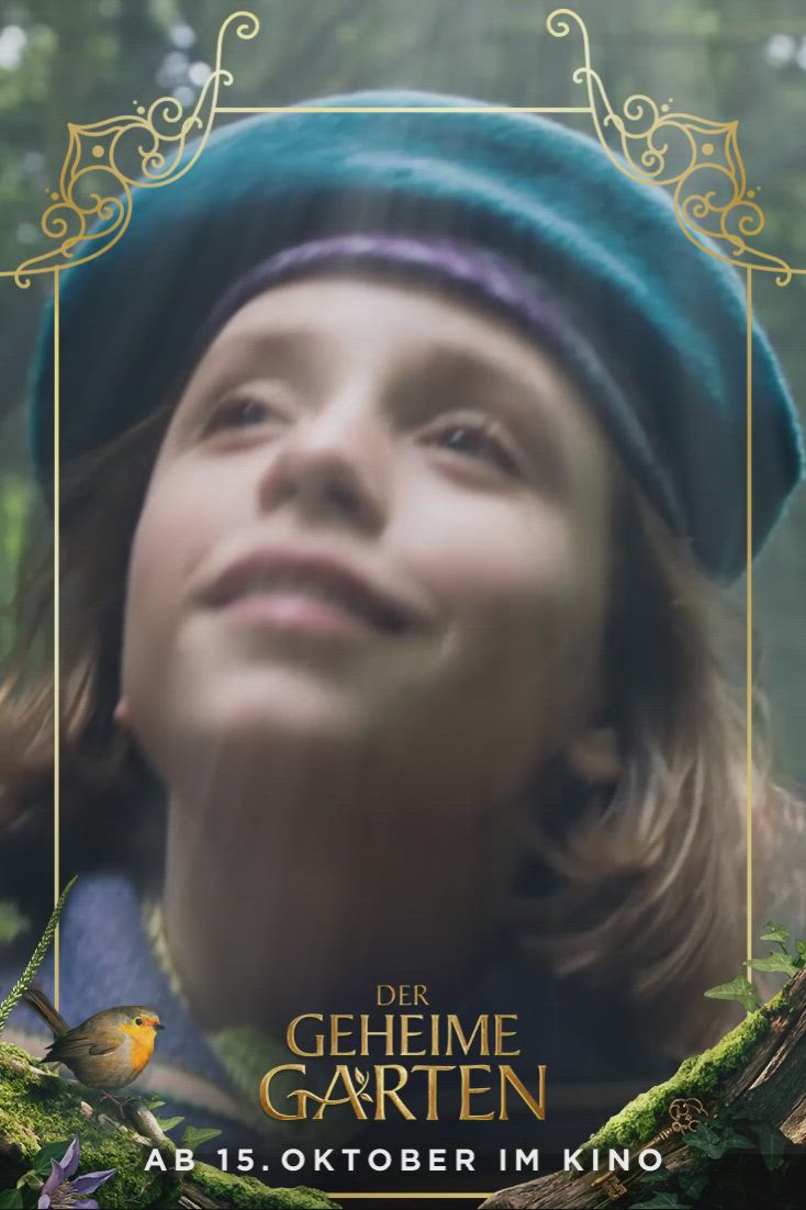 Der Zauberhafte Buchklassiker Der Geheime Garten Kommt Am 15 Oktober In Die Kinos Geht Mit Mary Auf En Video Geheimer Garten Geheime Garten Der Geheime Garten Film