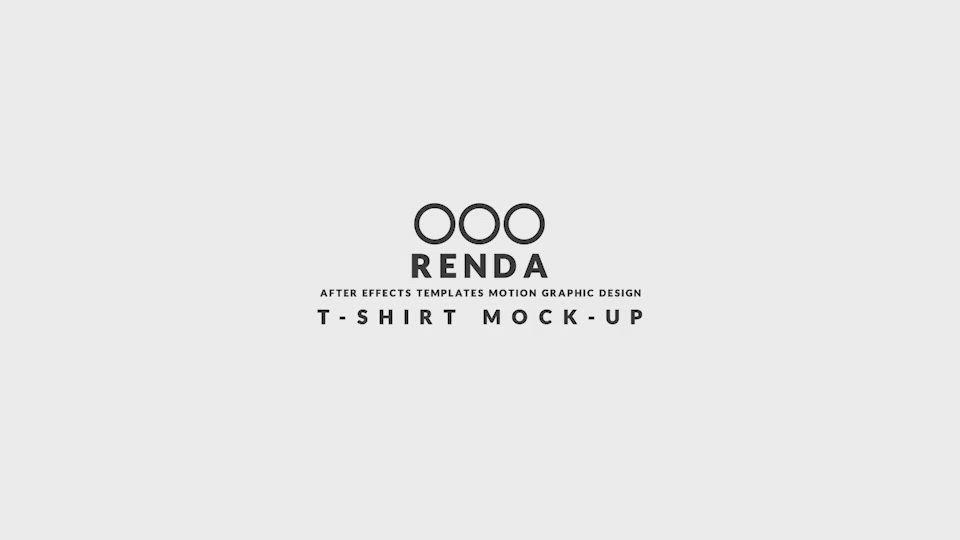 Download T Shirt Mockup Video Video Tshirt Mockup Shirt Mockup Mockup