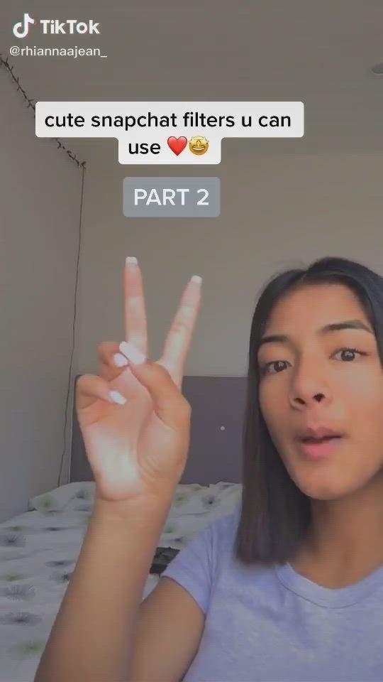 Tiktok Snapchat Filters Video Snapchat Filters Selfie Ideas Instagram Best Snapchat