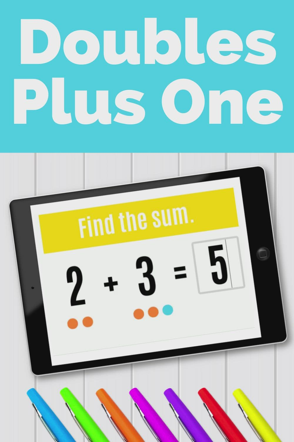 Doubles Plus One Boom Cards Digital Math Activity Video In 2021 Math Activities Early Elementary Resources Math Resources Doubles plus one addition facts