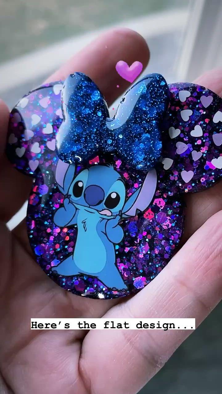 Dress it Up Disney Buttons Disney World Inspired Pop Socket Resin Pop Socket