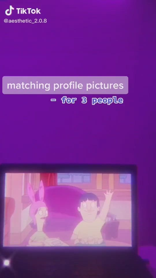 Tiktok Profile Pic Video Matching Profile Pictures Profile Picture Best Friends Photos