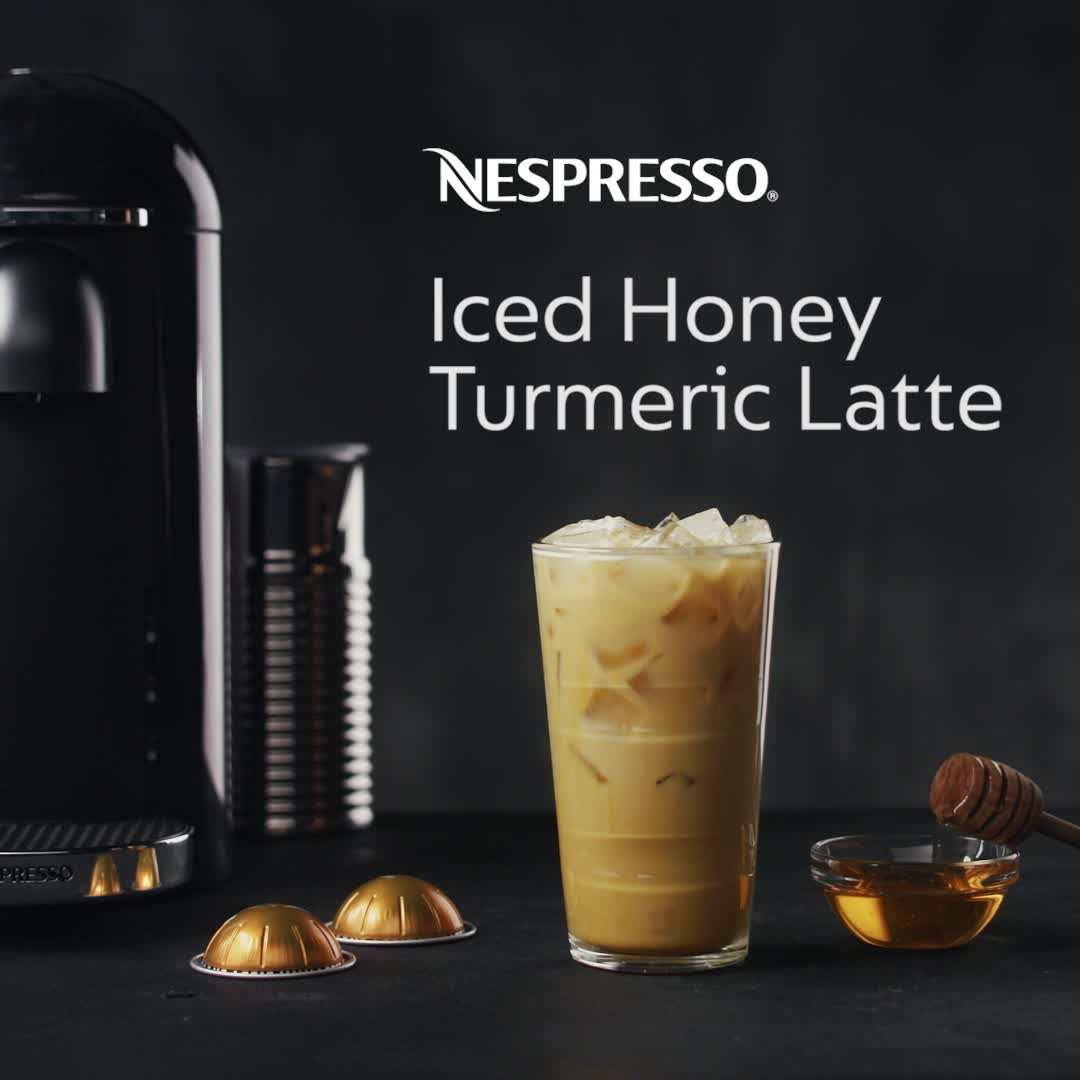 Enrich Your Summer Days With The Benefits Of Turmeric Spice Try Our June Recipe Of The Month The Nespresso Video Nespresso Recipes Espresso Recipes Turmeric Latte