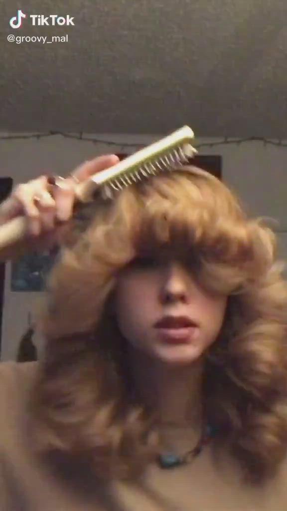 Pin By Makkedahpalmer On Tik Toks Video Hair Styles Hair Tutorial Curly Hair Tips