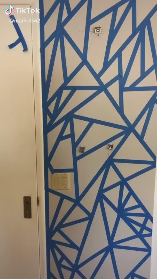Tumblrgxals Tiktok Video Painted Bedroom Doors Paint My Room Bedroom Wall Designs