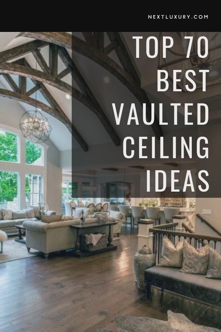 Top 70 Best Vaulted Ceiling Ideas High Vertical Space Designs Video Video Contemporary Kitchen Wood Beam Ceiling Kitchen Ceiling