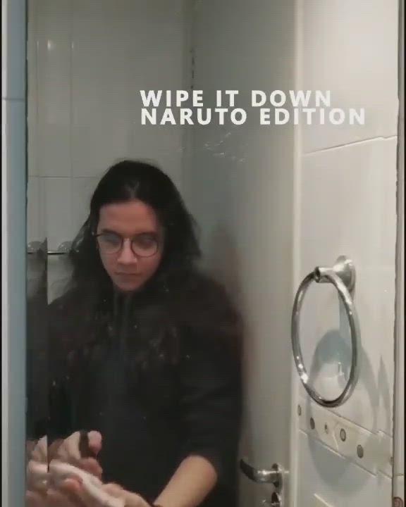 Wipe It Down Tiktok Video Naruto Anime Version Anime Films