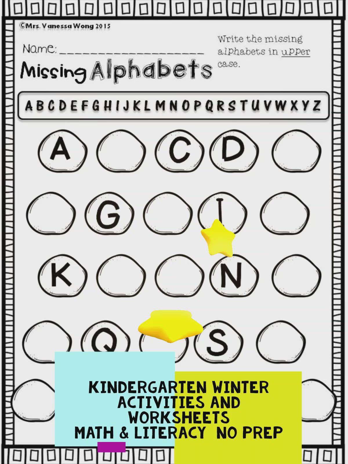 Winter Math And Literacy Worksheets And Activities For Kindergarten Video Winter Math Literacy Worksheets Free Kindergarten Printables [ 1600 x 1200 Pixel ]