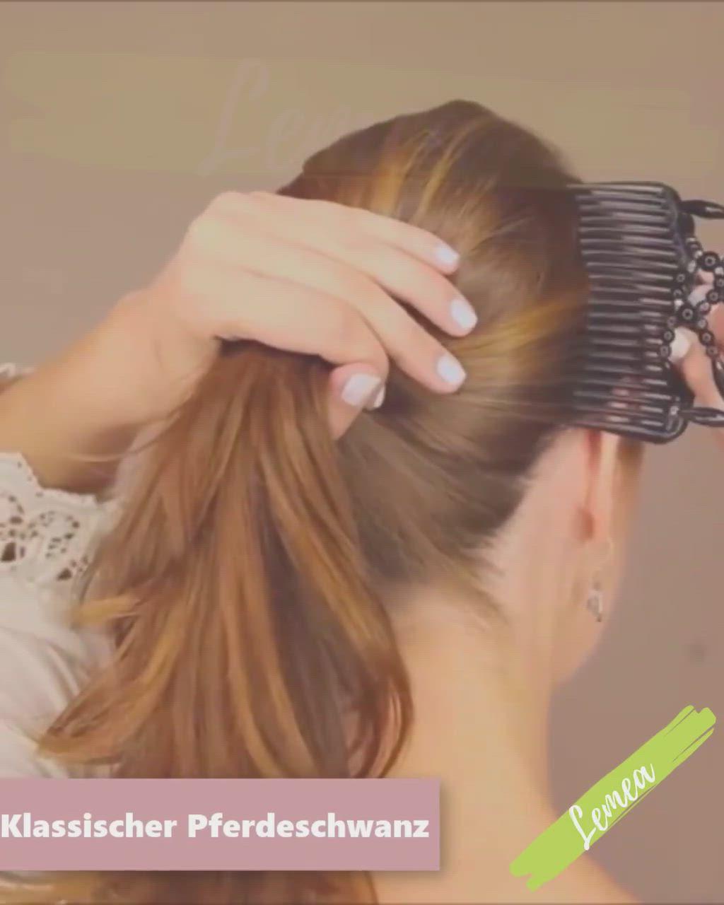 Großer frisuren haarklammer mit Haarspangen