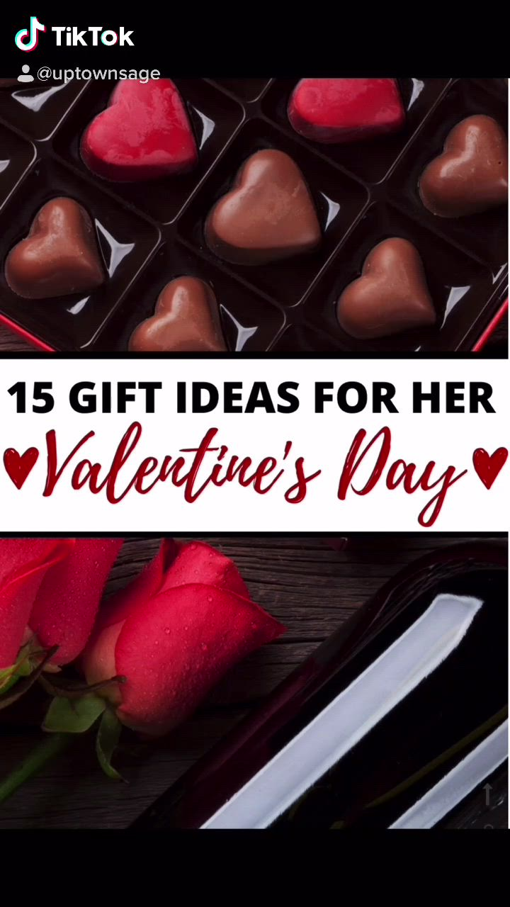 15 Gift Ideas For Her Valentine S Day Video In 2021 Valentines Valentine Gifts Gift Guide