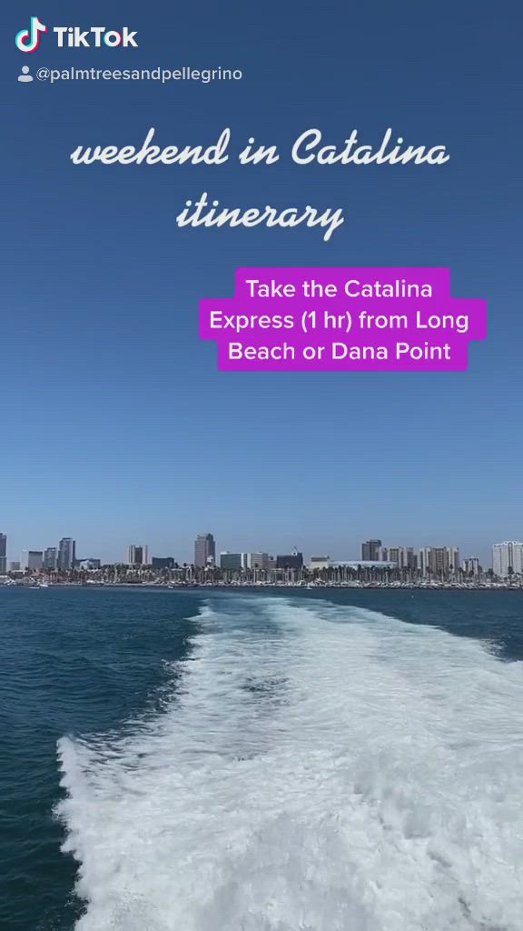 Weekend On Catalina Island Itinerary Video In 2020 Catalina Island Catalina California