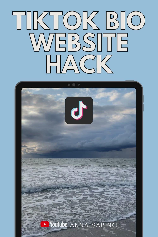 Add A Link To Your Tiktok Bio Clickable Website Link On Tiktok Tiktok Business Video Successful Online Businesses Business Video Instagram Marketing