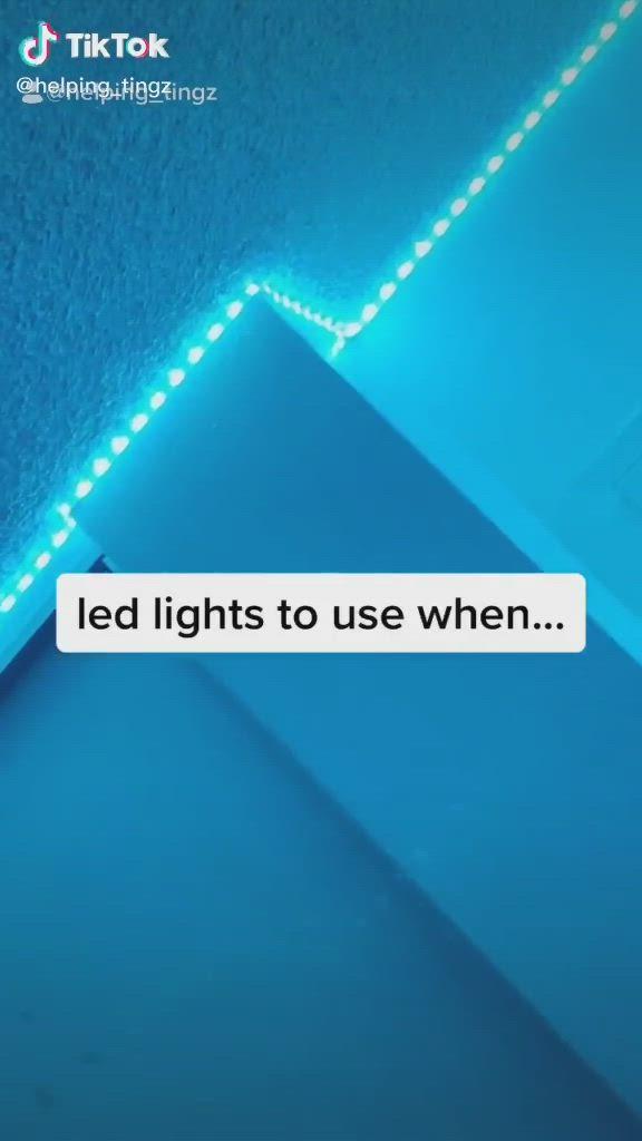 Led Lights Under Cabinets Video Led Lights Led Lighting Diy Led Light Strips Diy
