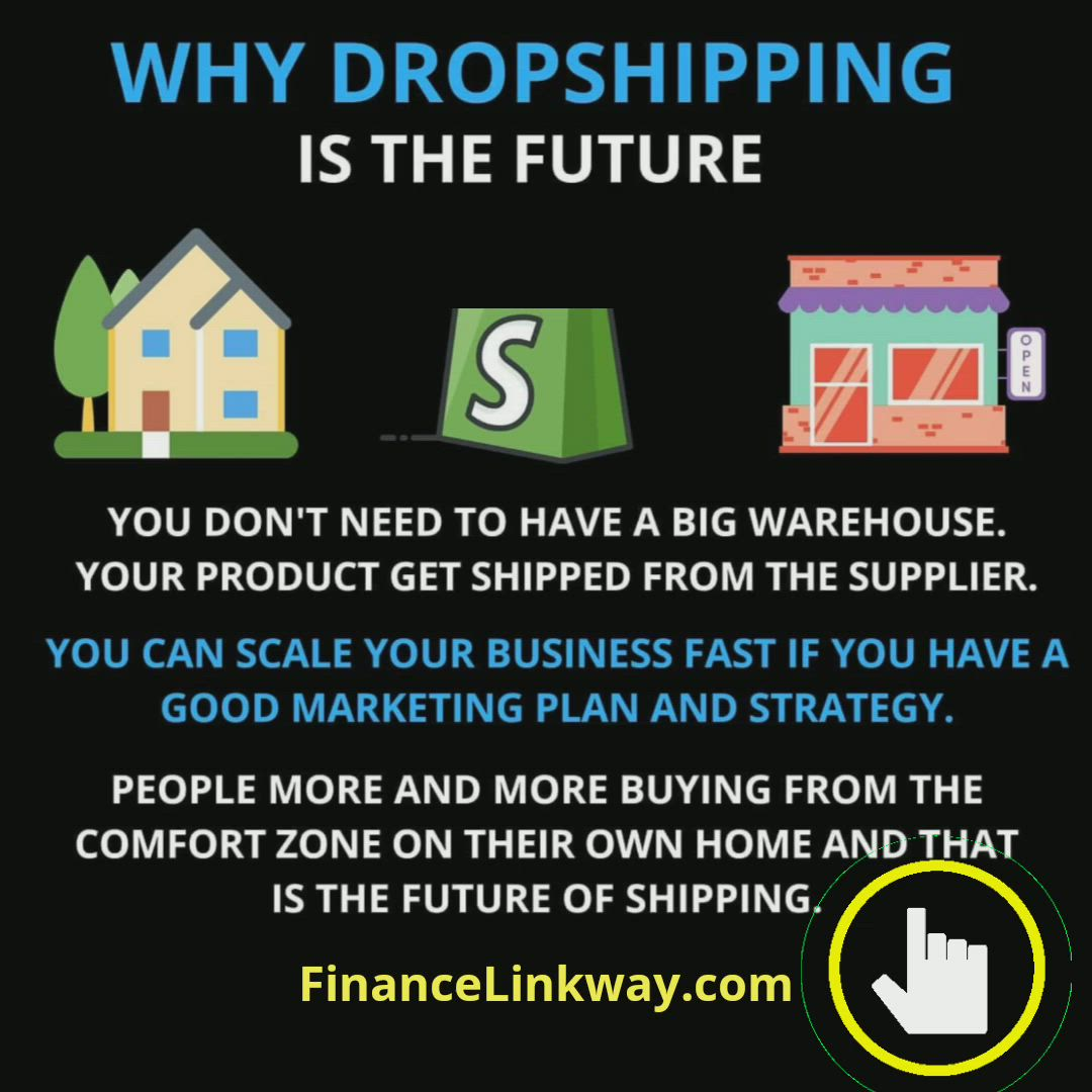 Why Dropshipping Is The Future Video Financial Freedom Quotes Own Business Ideas Entrepreneur Motivation