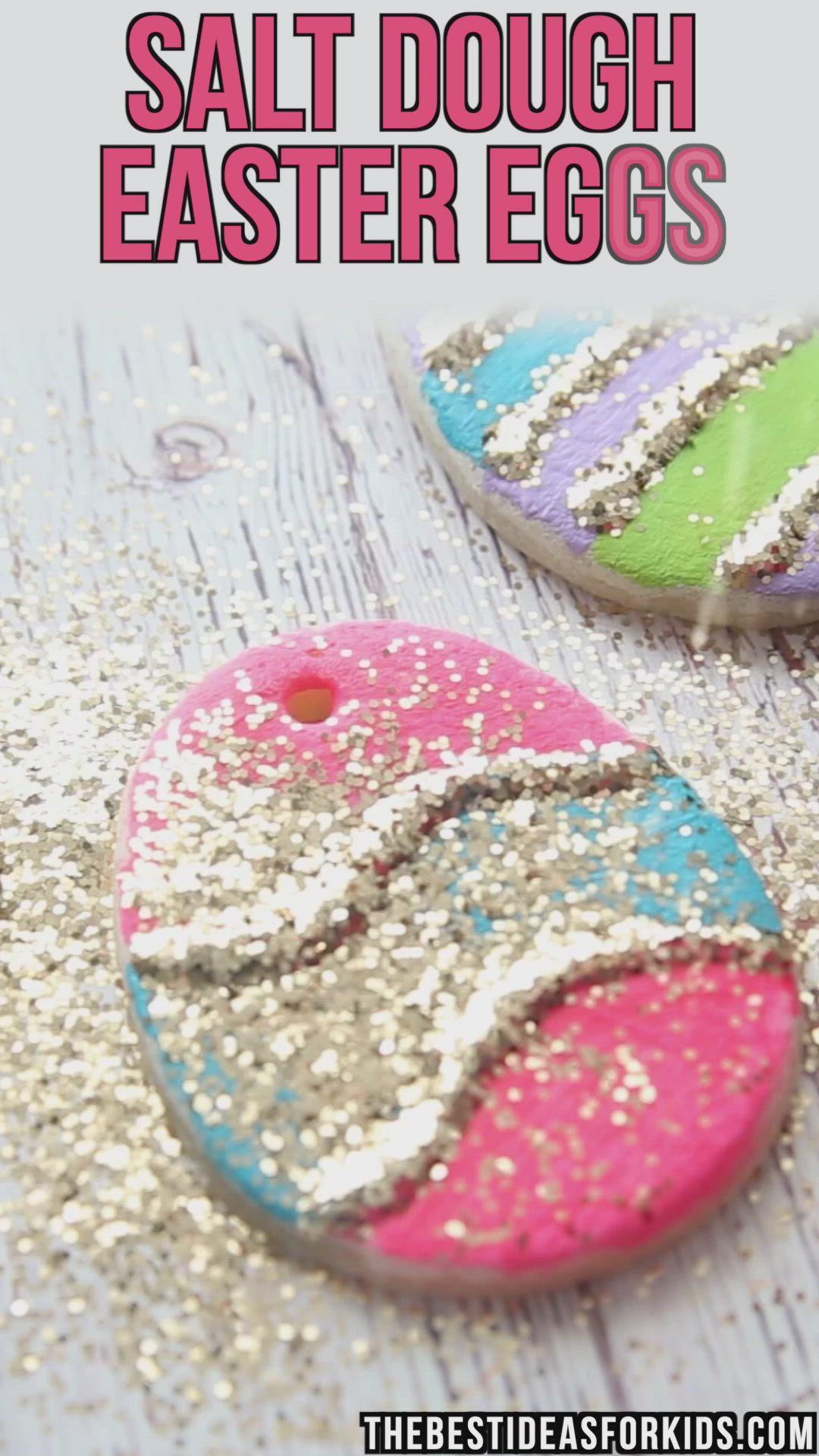 Salt Dough Easter Eggs The Best Ideas For Kids Video Video Fun Easter Crafts Easter Crafts Easter Kids