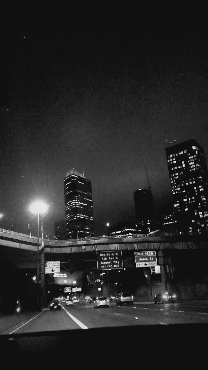 Downtown Atlanta Video Sky Aesthetic Dark Aesthetic City Aesthetic