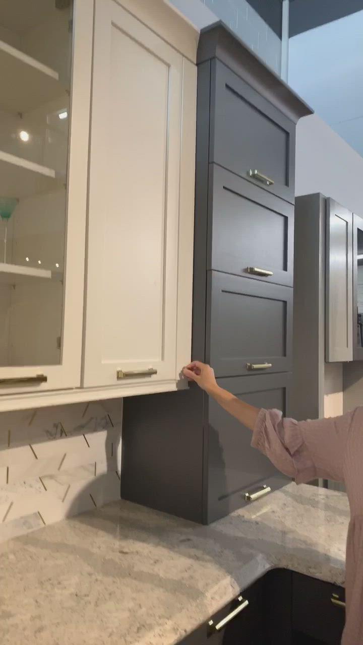 Roll Out Spice Rack In Kitchen Filler Video Cozinhas Modernas Gavetas Da Cozinha Design De Cozinha