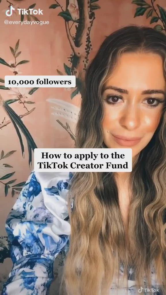 How To Apply The Tiktok Creator Fund Video Pinterest Tutorial Social Media Tips Instagram Tips