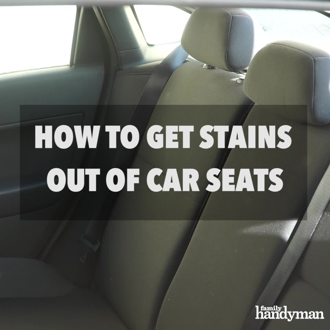 How To Get Coffee Stains Out Of A Car Seat