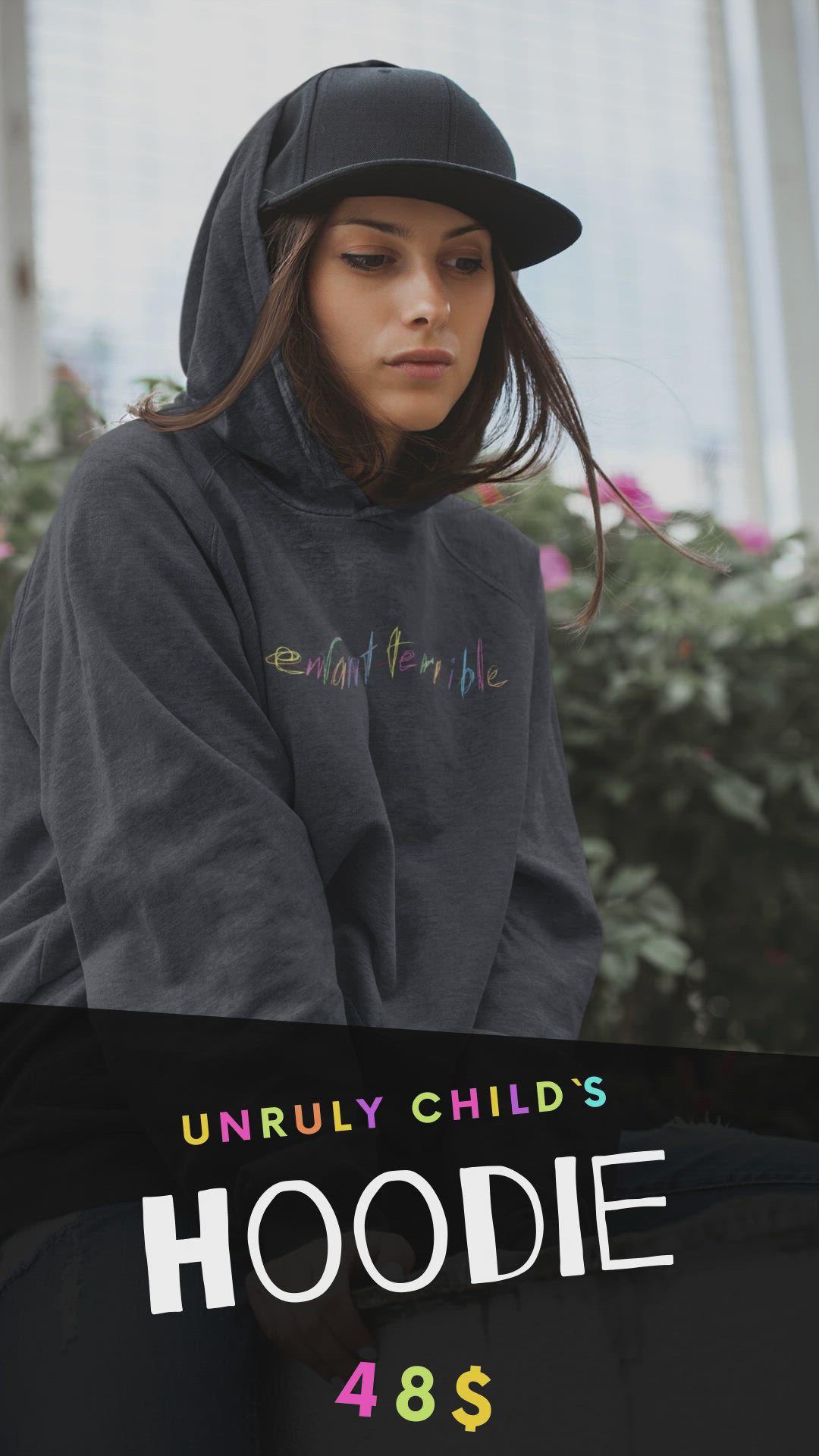 Enfant Terrible Pullover Hoodie By Troyka Video Video Hoodie Design Black Hoodie Hoodies [ 1920 x 1080 Pixel ]