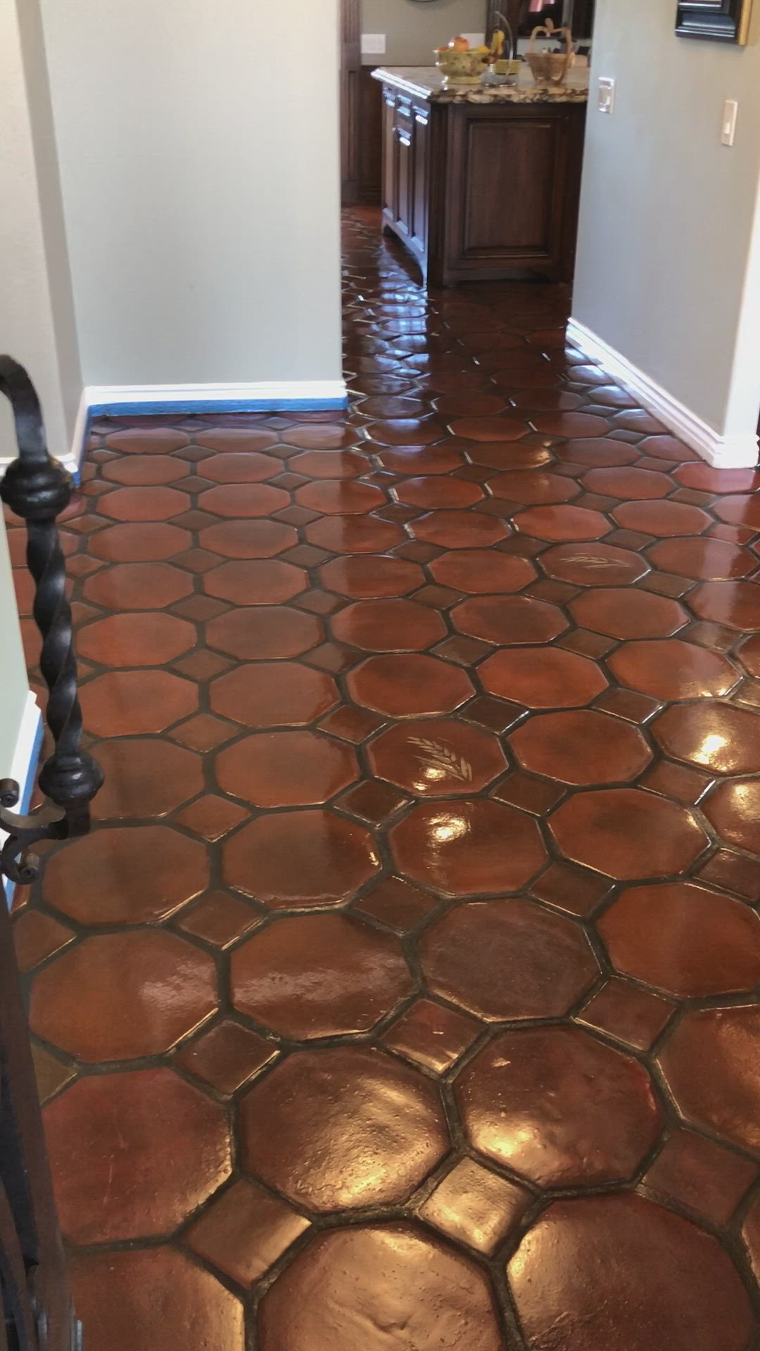 The Client Hated The Orange Tones In These Tecate Terracotta Tiles